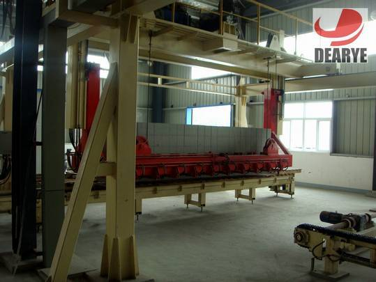 Dearye Company New type aerated auoclaved concrete block production line