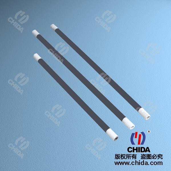 rod shape SiC heating element, SiC reistor at good price