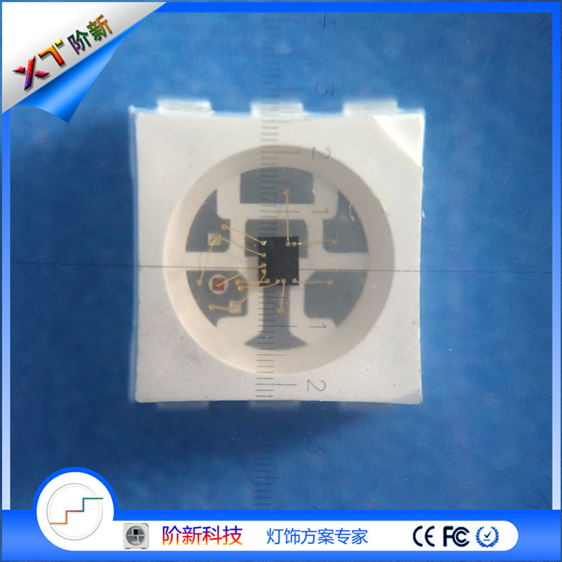 XT9822 programmable chip, transmission speed LED, GLT+DAT transmission, 256 grayscale adjustment