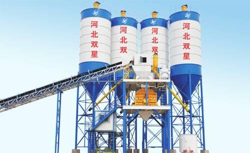 HZS120 concrete batching plant technical specification