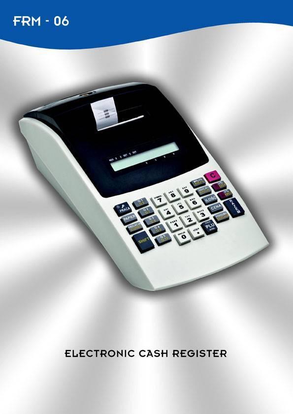 Fiscal Cash Register FRM06 / CRK