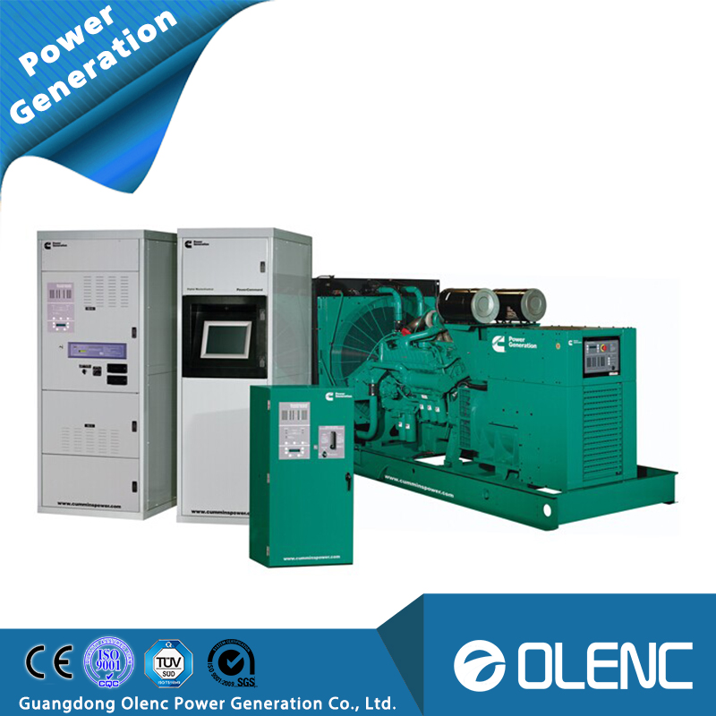1000kw industrial power genset with AC generator