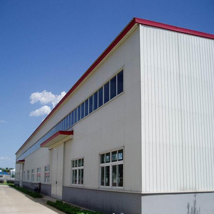 Hot dip galvanized Warehouse/Hangar/workshop/shed Steel frame Structure Building in deserts and trop