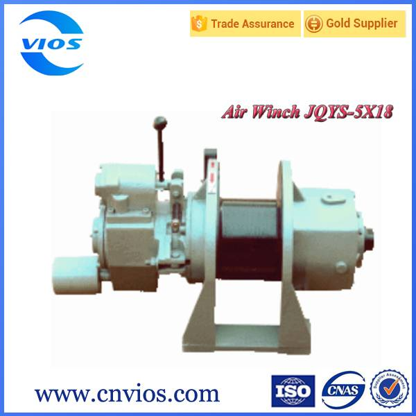 500kg pneumatic type small boat winch for sale