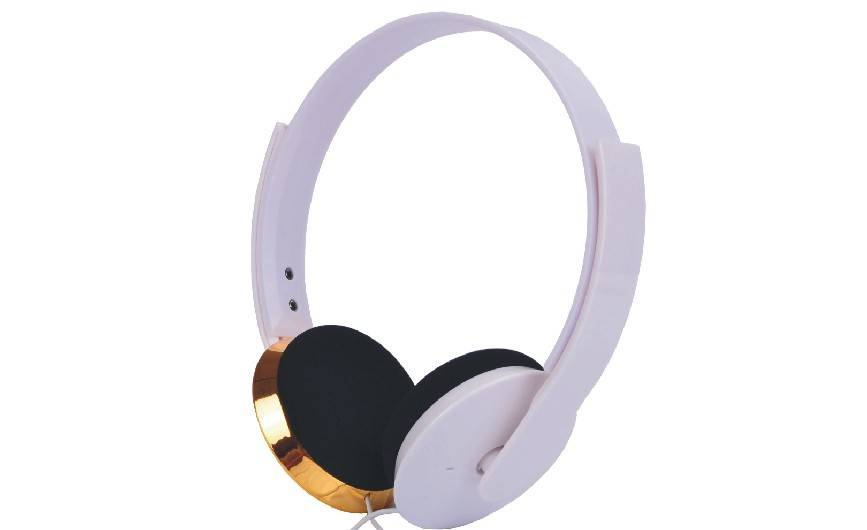 Amazing elegant expensive headphone with cool style for DJ