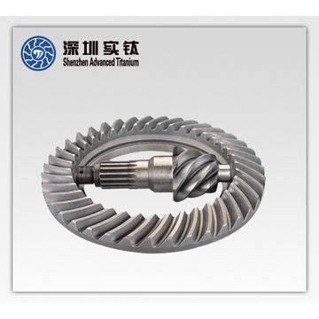 Titanium precision casting Ring gears with cnc service