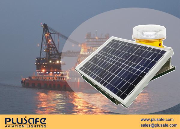 Solar Powered L864 Aviation Obstruction Lighting Free Maintenance
