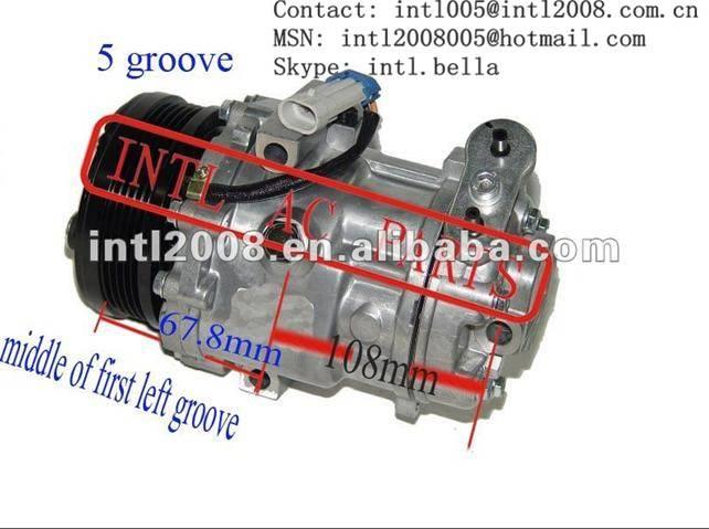 SD6V12 6V12 1440 AC Compressor OPEL Astra G Combo Corsa C Meriva A Zafira A B /VAUXHALL Astra Corsa