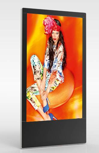 2015 Latest floor-standing 46inch advertising display with 3G/wifi
