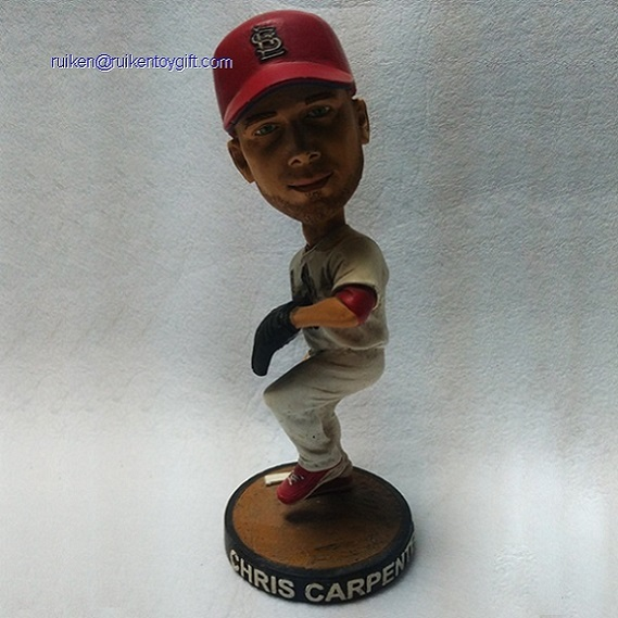 Chris Carpenter 6 Inch Resin Bobble Head Figure