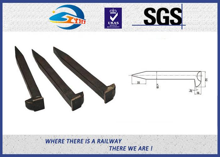 ZhongYue Track Carbon Steel 4.8 Grade Railway Dog Spikes AREM Q235