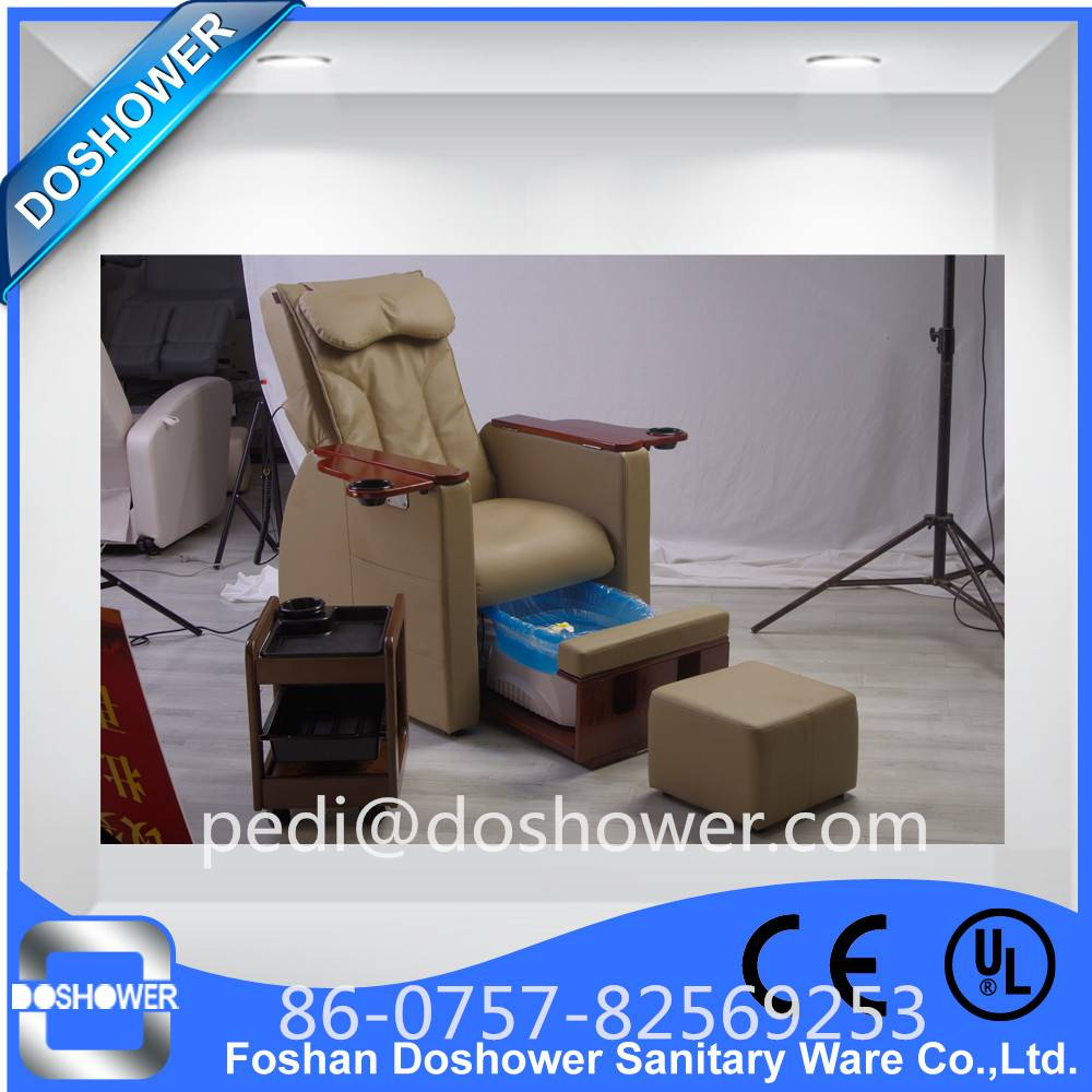 Doshower DS-N03 pearl spa pedicure with pedicure chair leather cover of pedicure spa chairs china
