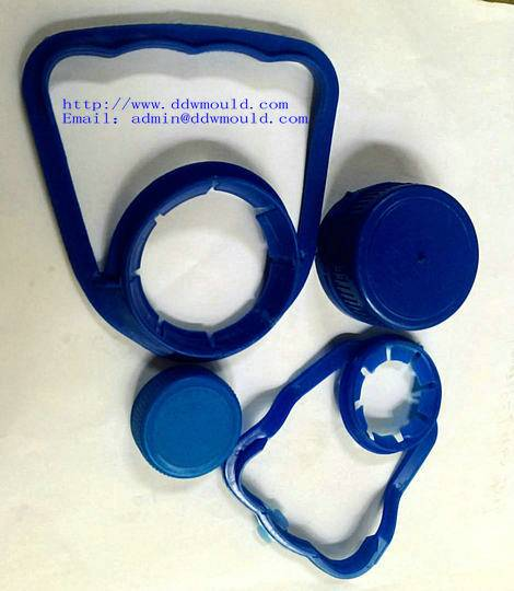 DDW PE Plastic Handle plastic carrier of 30mm PET bottle