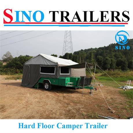 Hard Floor Australian Travel Camper Trailer