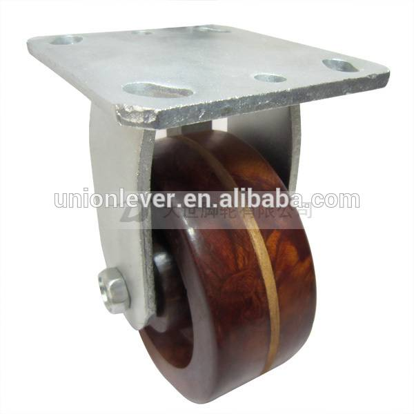 5 inch plate type rigid high temprature caster of 300 degrees C series
