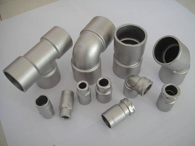pipe fitting,investment casting,precision casting,steel,casting