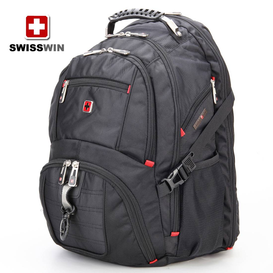 Shoulders Travel & Business backpack Men's Travel Backpack 15.6-inch computer bag schoolbag