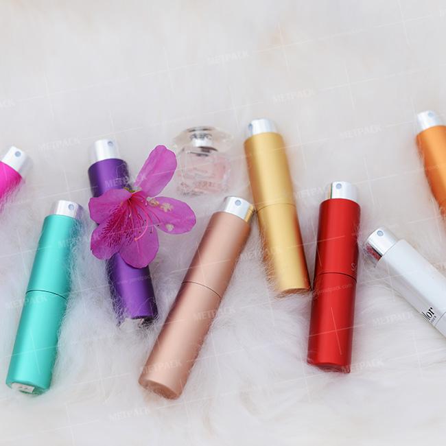 Hot perfume atomizers