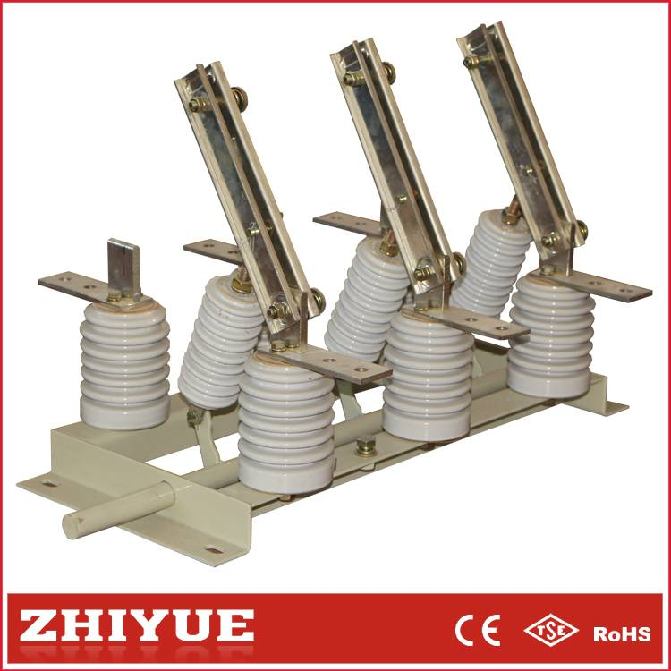 GN19-12c 3p 12kv 1250A Indoor AC High Voltage hv isolating disconnect switch