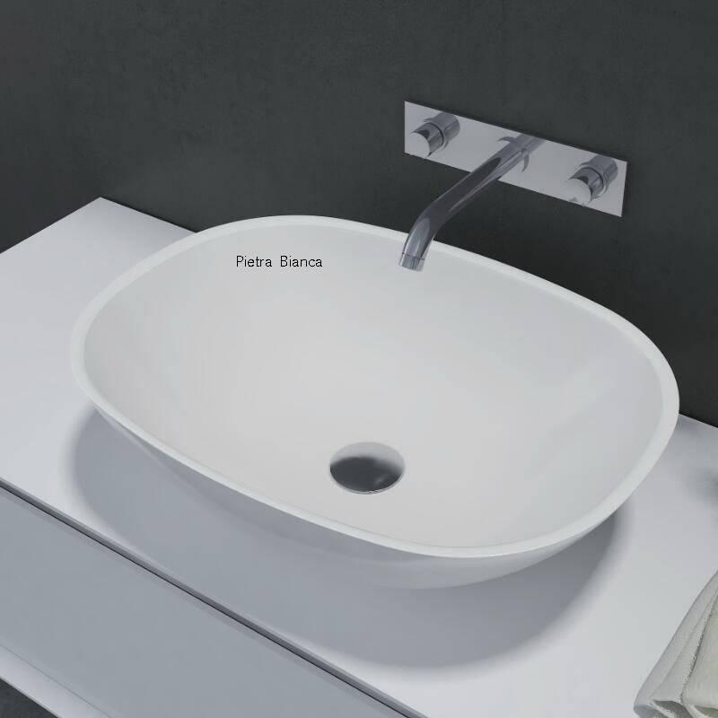 Man-Made Stone Table Top Basin (PB2202)
