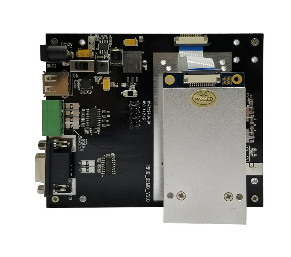 Four Antenna Ports R2000 Chip UHF Rfid Reader Module