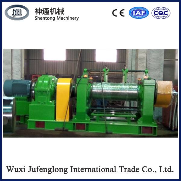 Two roll open mixing mill, rubber mixing equipment