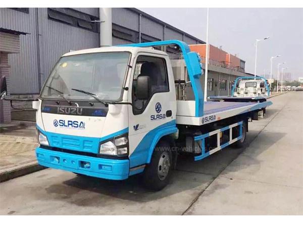 Isuzu 3ton 4ton 5ton Road Wrecker Tow Truck Recovery Truck