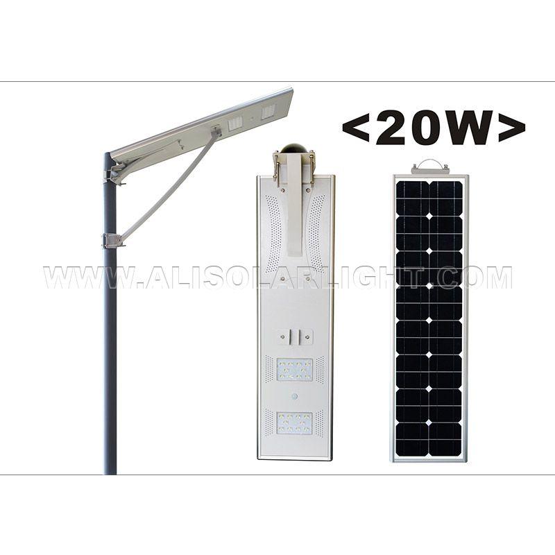 20W High Configuration LED Solar Street Light