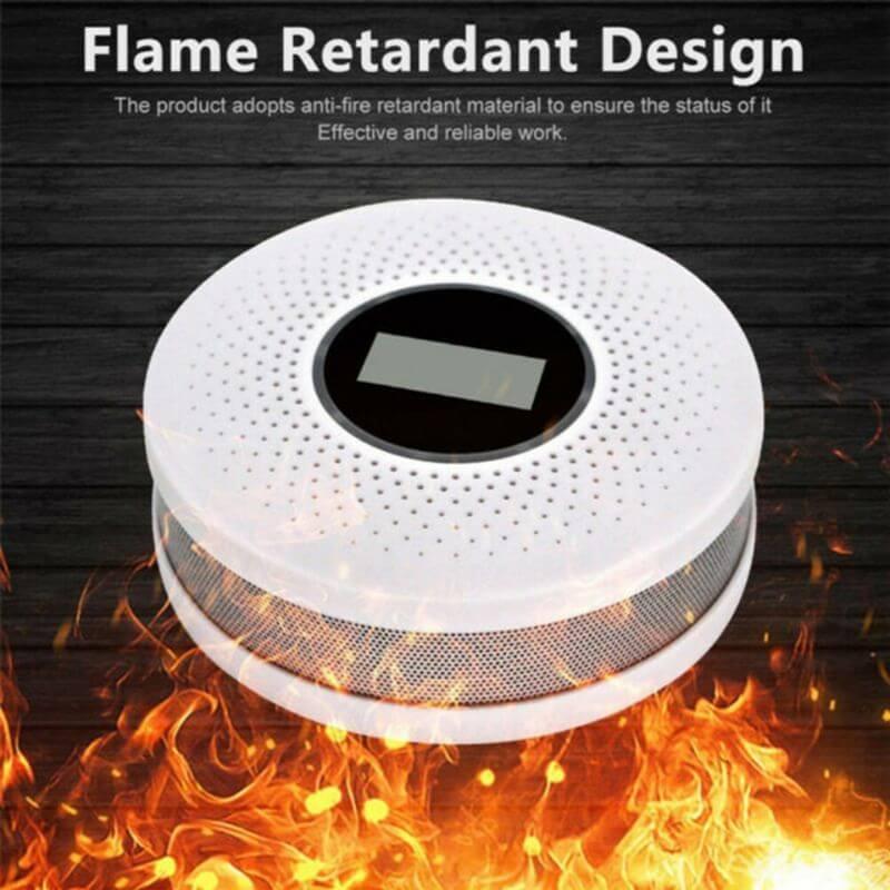 Smoke and carbon monoxide tester carbon monoxide detector free with co sensor