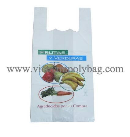 Vietnam plastic tshirt vest carrier shopping bag