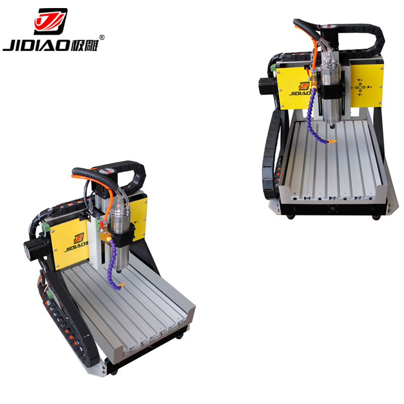 Mini CNC Woodworking Router Machine 3 Axis