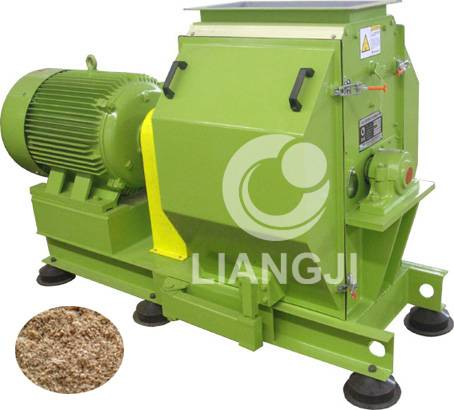 Wooden fine hammer crusher