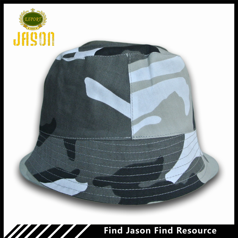 cotton material army style camouflage color bob hat