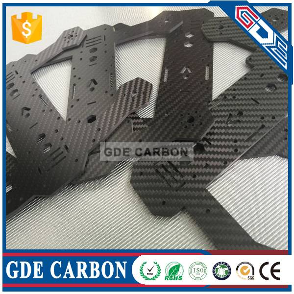 UAV/FPV/Quadcopter CNC Carbon Fiber Cutting, Carbon Fiber CNC Parts