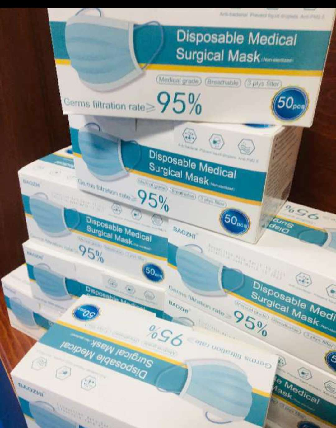 Surgical mask in stock