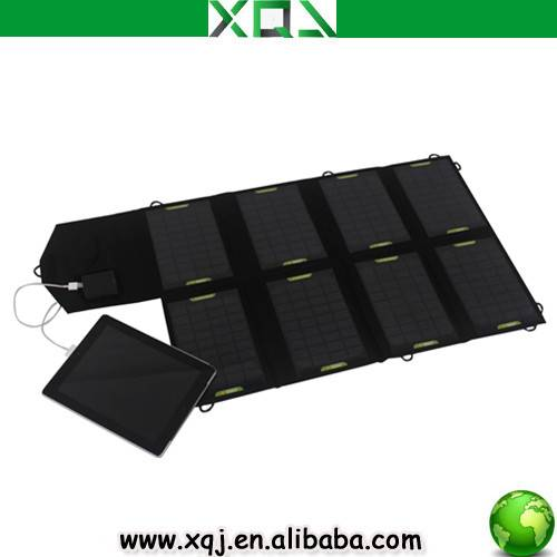 28W Portable Universal PET+PVC Solar Panel Charger For iPhone, iPad,Samsung,Tablet PC,Laptop/Noteboo