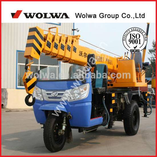 3 ton truck crane for sale