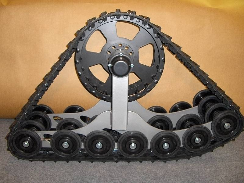 KROSS rubber track conversion systems - all-terrain rubber tracks for 4X4 vehicles