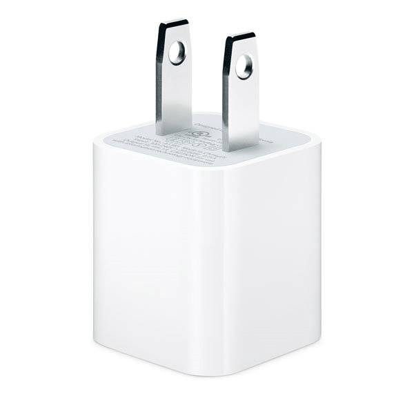 Original iphone 5W US USB power adapter for iphone5 6