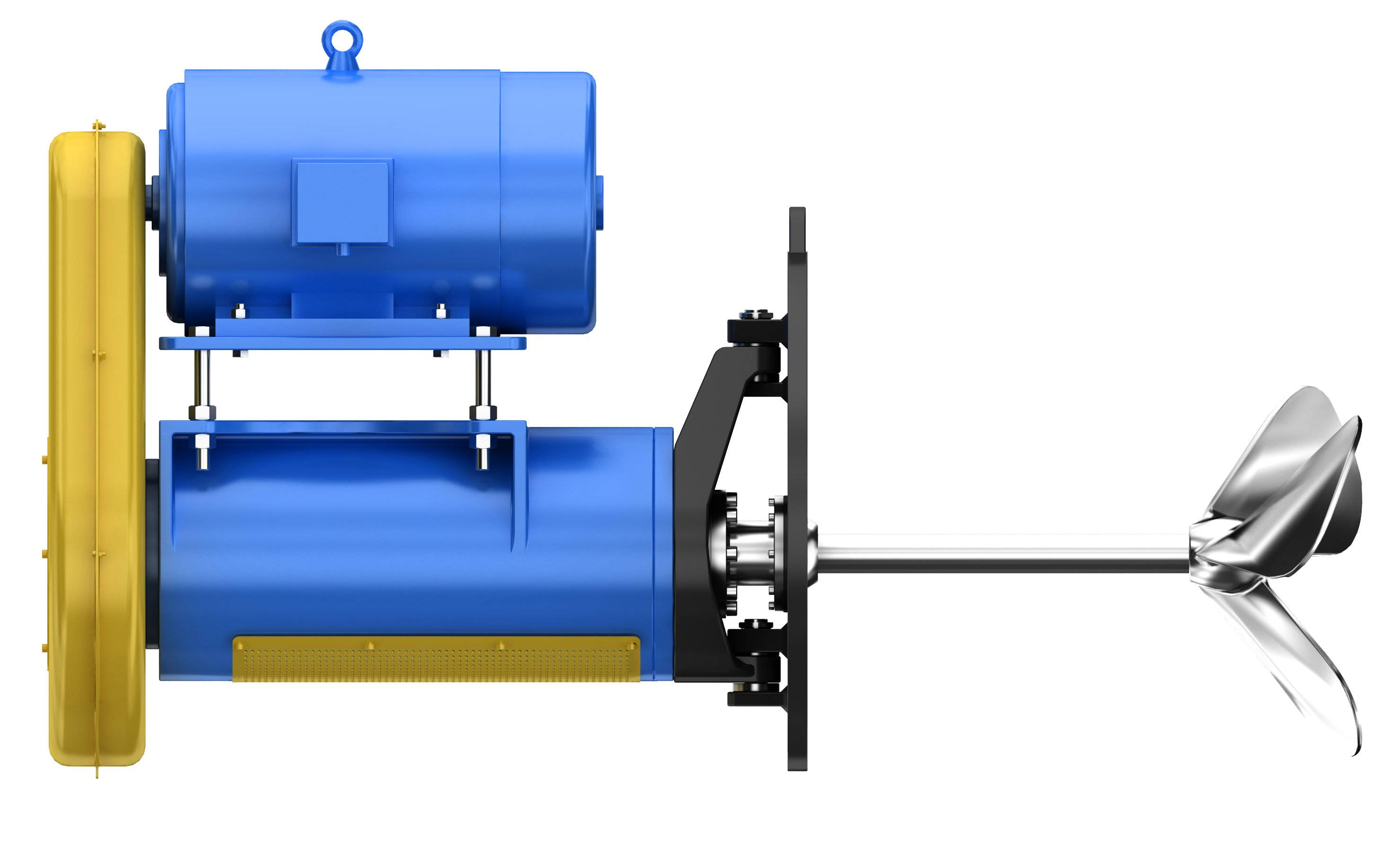 Industrial Use Stainless Steel Side Mounted Agitator