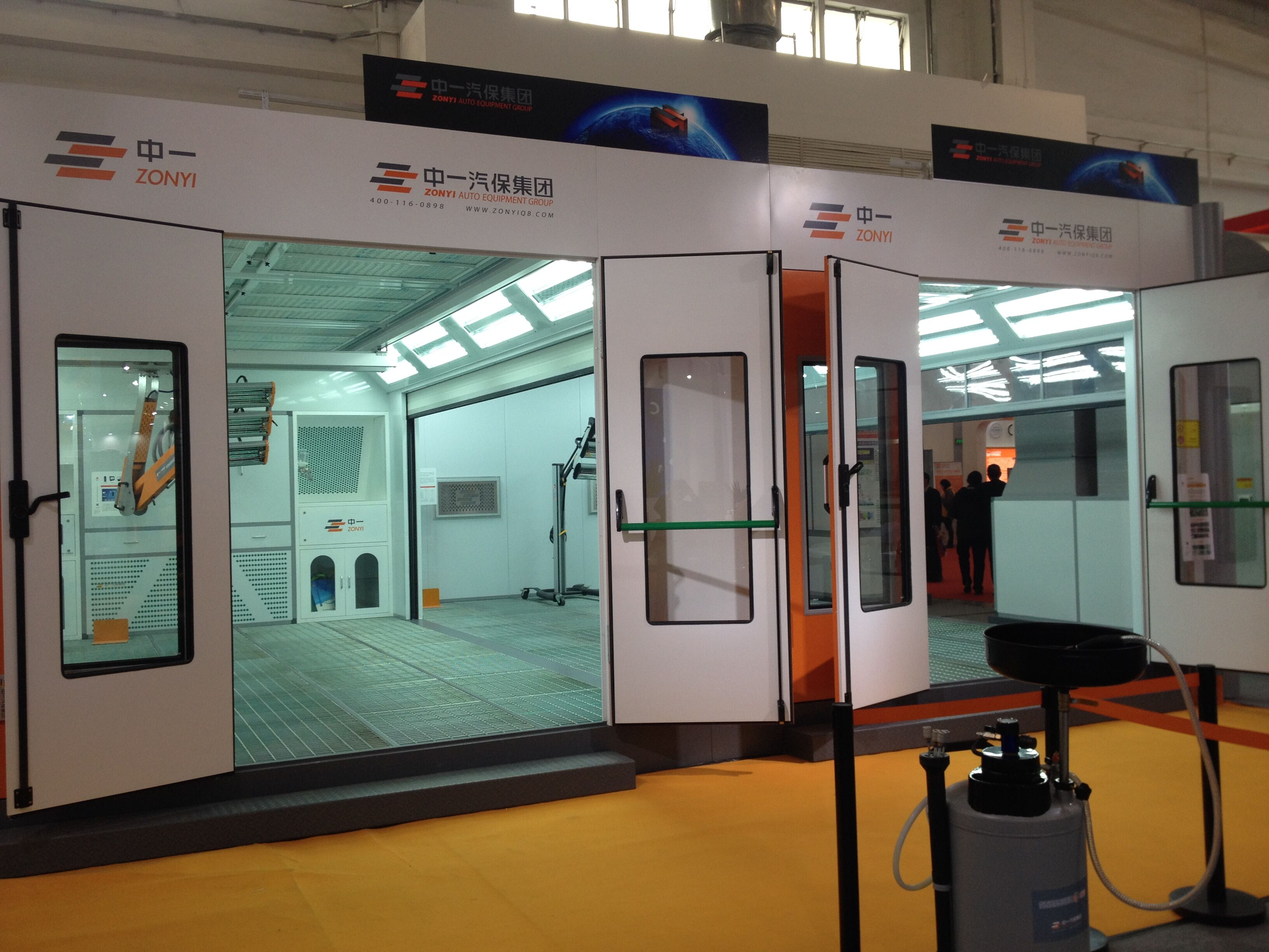 zonda paint oven booth(CE ISO CSA SONCAP CERTIFIED)