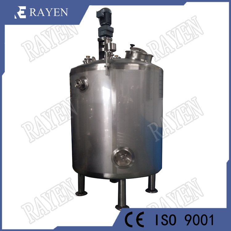 SUS304 Jacket Tank Vessel Tank Double Jacketed Tank