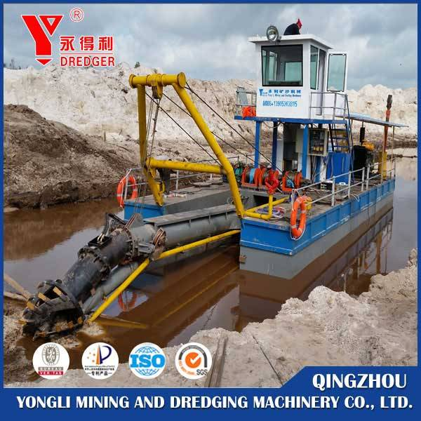 Cheap price hydraulic cutter suction dredger