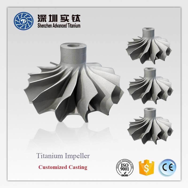 Titanium Aluminum Alloy rc Jet Turbine Engine Parts
