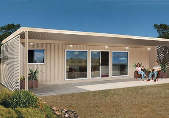 Accommodation container / living container / Hotel container house / camp