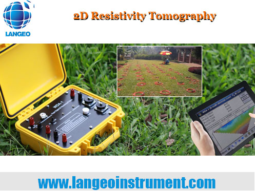 LANGEO WGMD-9 DC 2D/3D Electrical Resistivity/IP Imaging System
