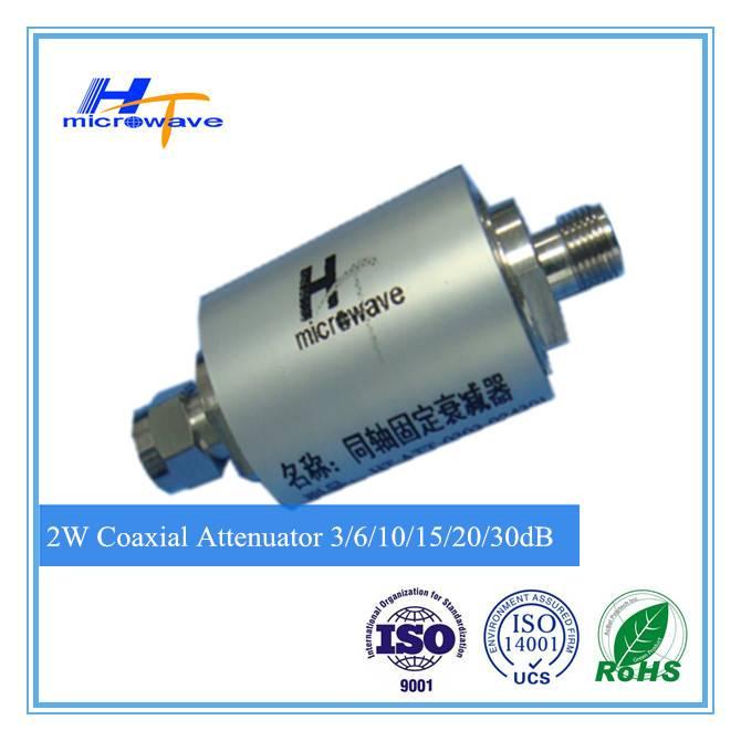 RF Coaxial Attenuator-DC-3GHz 2W 3/6/10/15/20/30/40dB SMA-M/SMA-F
