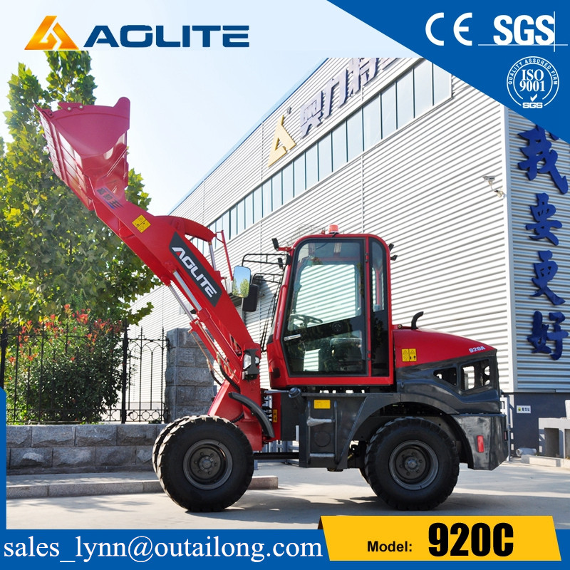 Hydraulic Articulated Small Europe Type Wheel Loader 920C for Sale