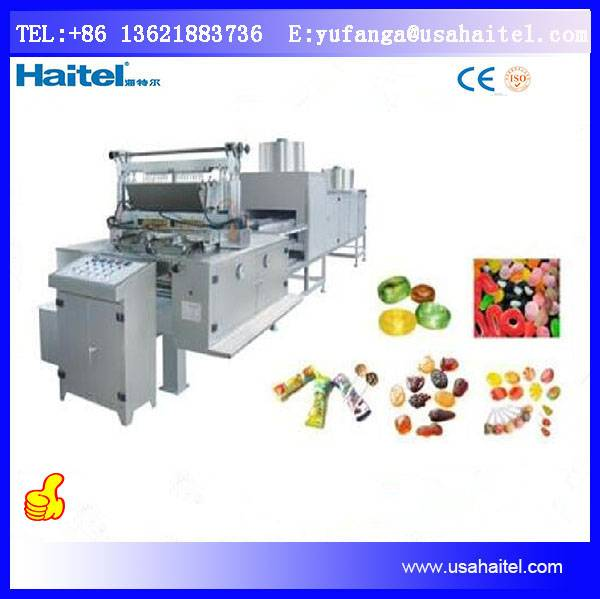 Fully Automatic Candy Making Machinery Best Price Hard Candy Depositing Machine