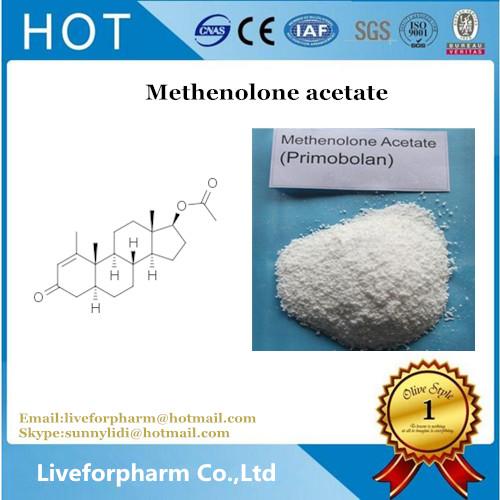 Primobolan Cycle Steroids powder Methenolone Acetate CAS 15262-86-9